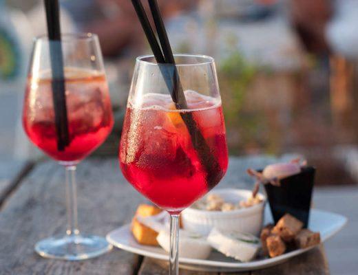 Drink z Caprice Aperitivo i Prosecco