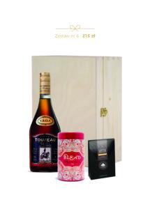 alkohol na prezent