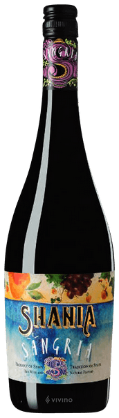 Sagria wino hiszpańskie