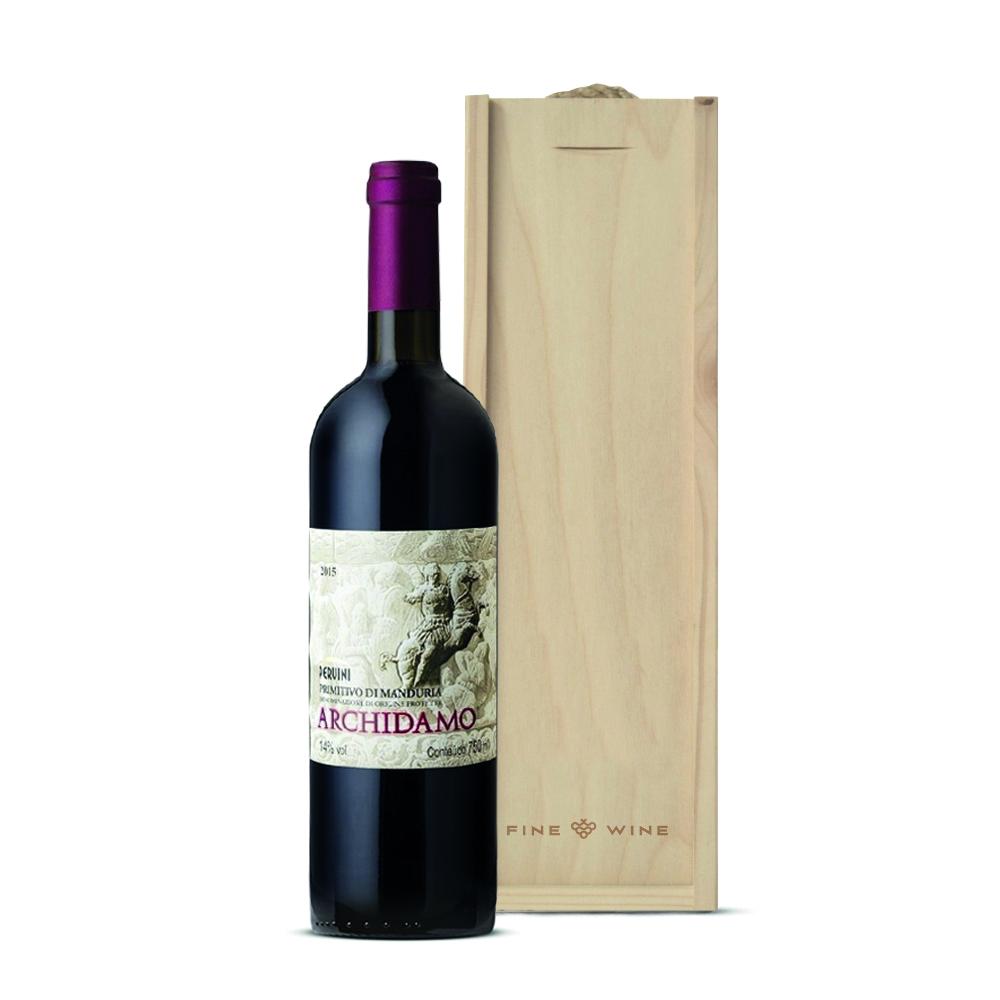 Zestaw świąteczny wino primitivo