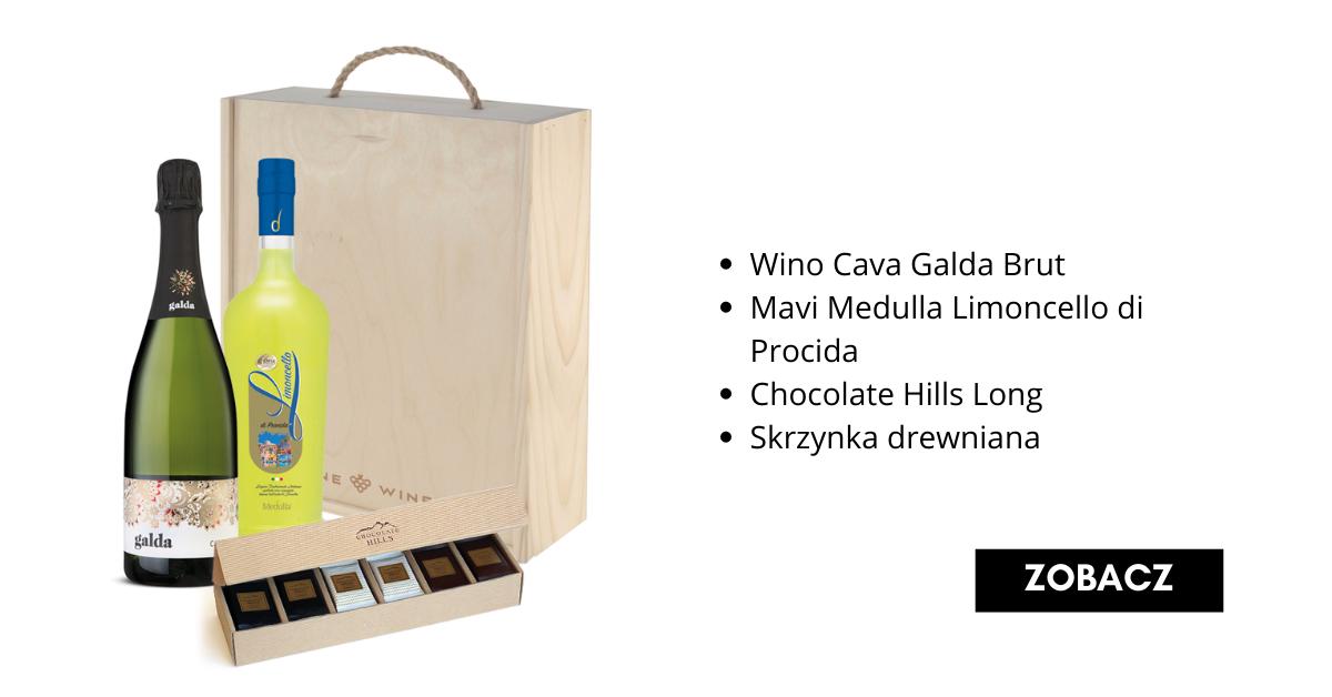Świąteczny Zestaw Prezentowy z winem - Fine Wine